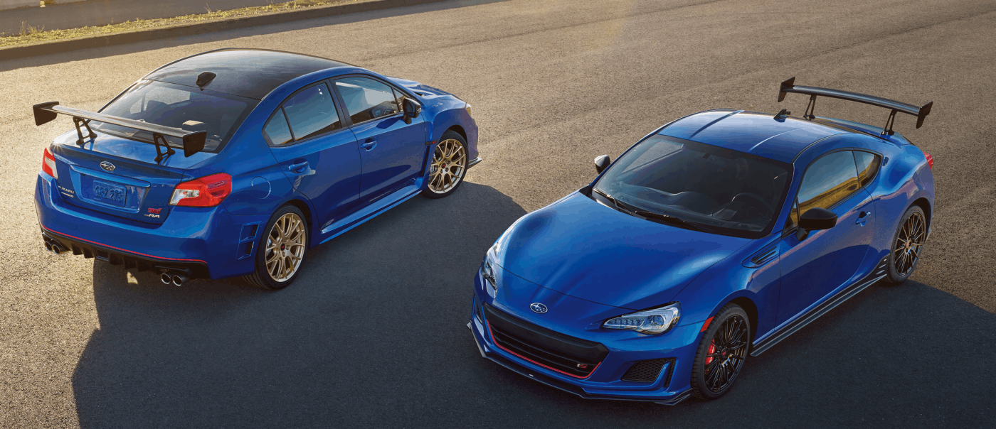 2018 WRX Type RA and BRZ tS