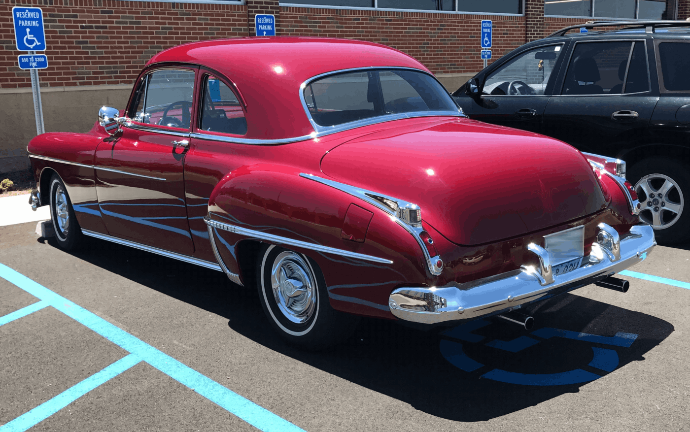 1950 Oldsmobile Rear Quarter