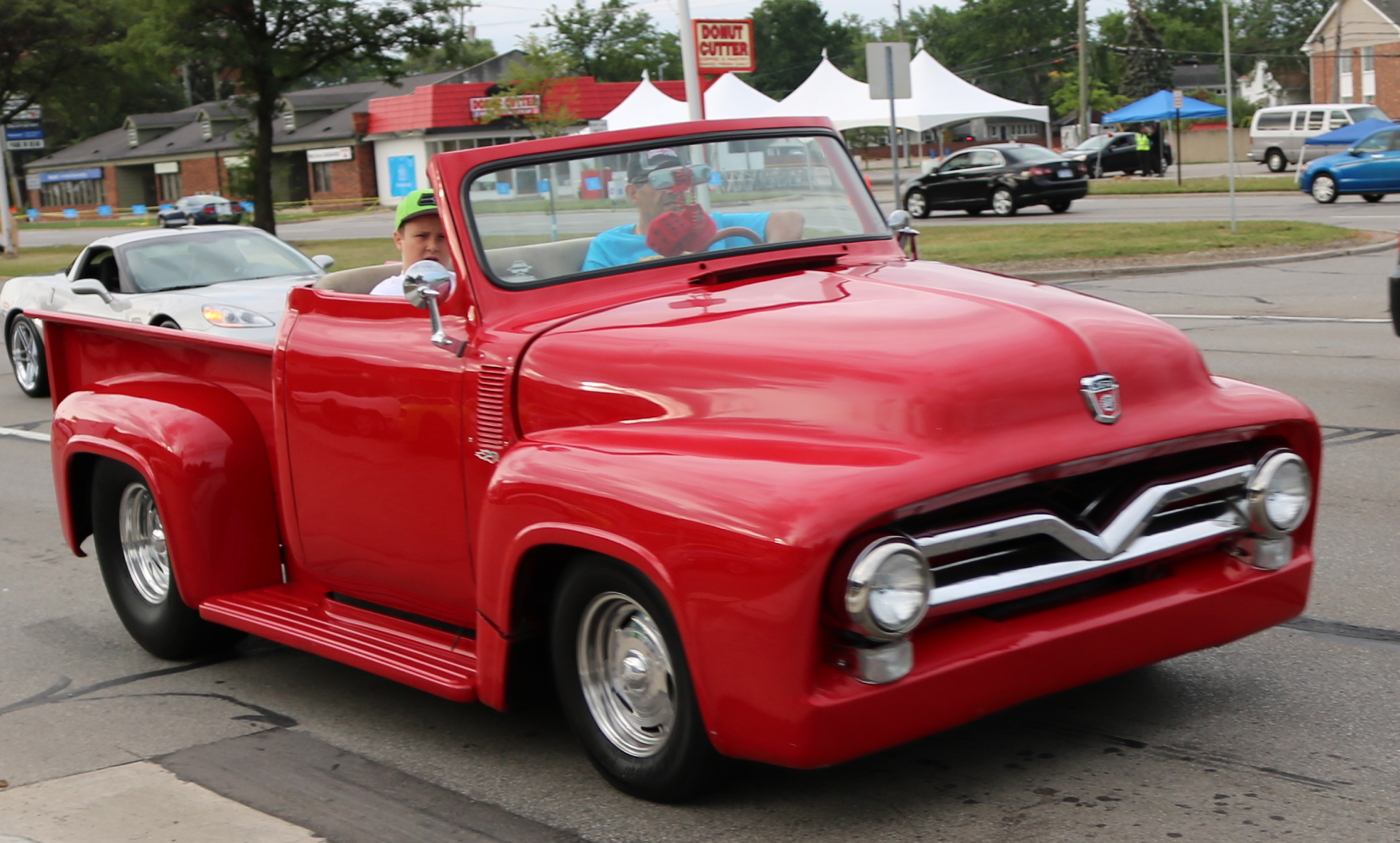 1955 Ford F100 Convertible