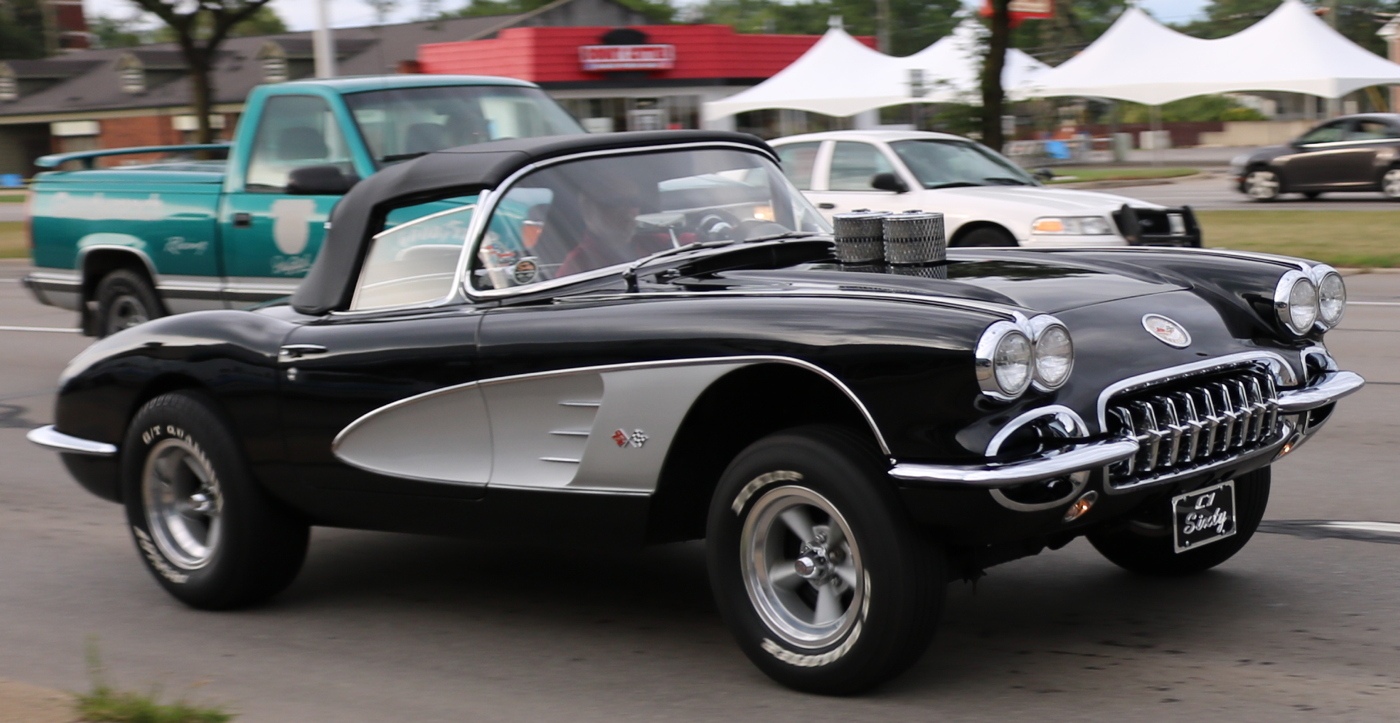 1959 Chevrolet Corvette Drag Car