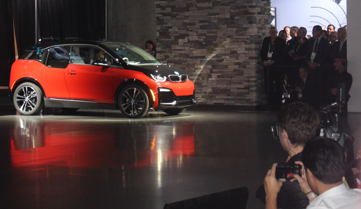 2018 BMW i3s unveiling