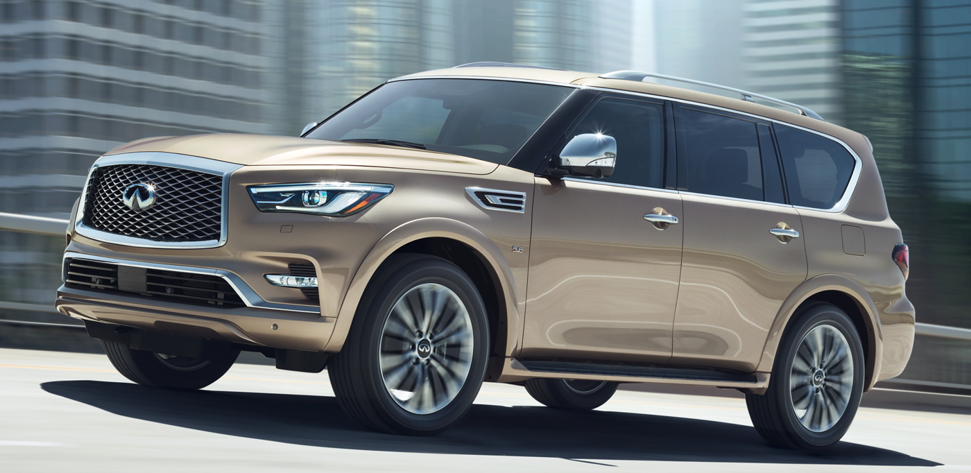 Production Model 2018 Infiniti QX80