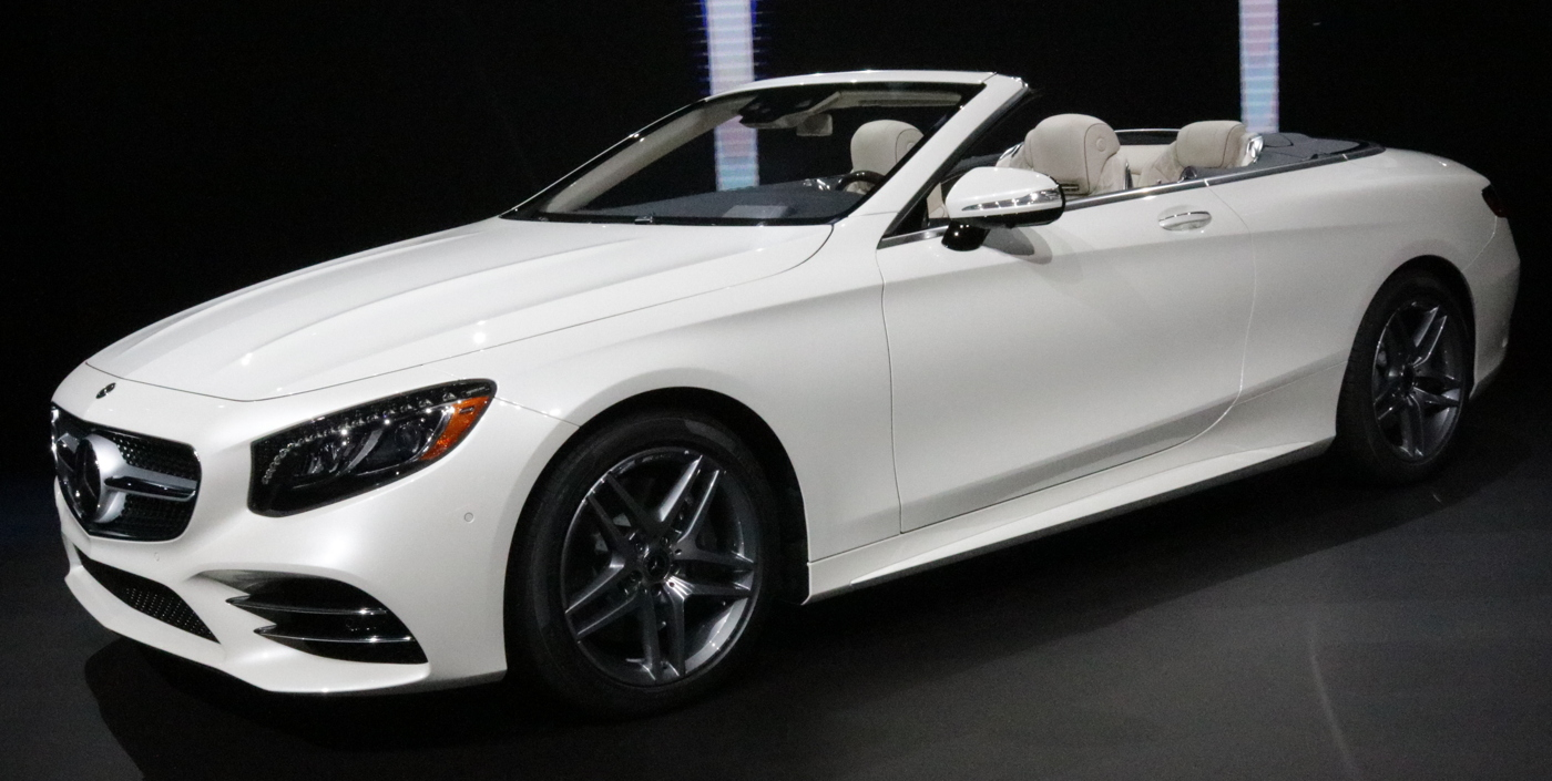 2018 Mercedes S 560 Cabriolet