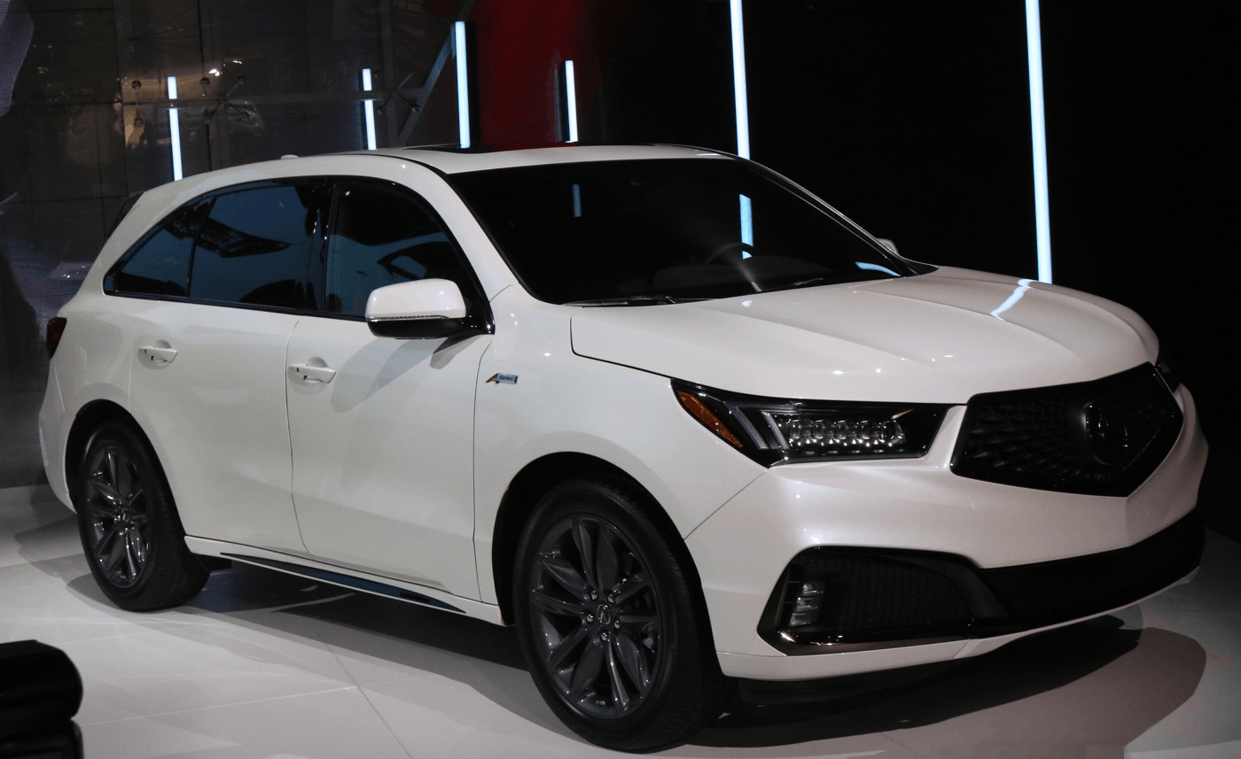 2019 Acura MDX A-Spec at NY Auto Show