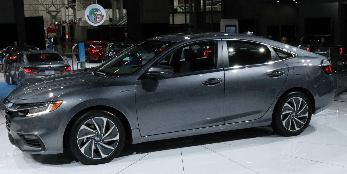 2019 Honda Insight at NY Auto Show
