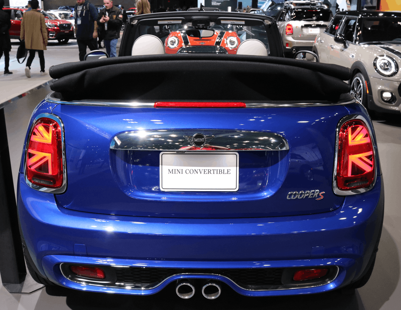 2019 MINI Cooper Convertible Rear NY Auto Show