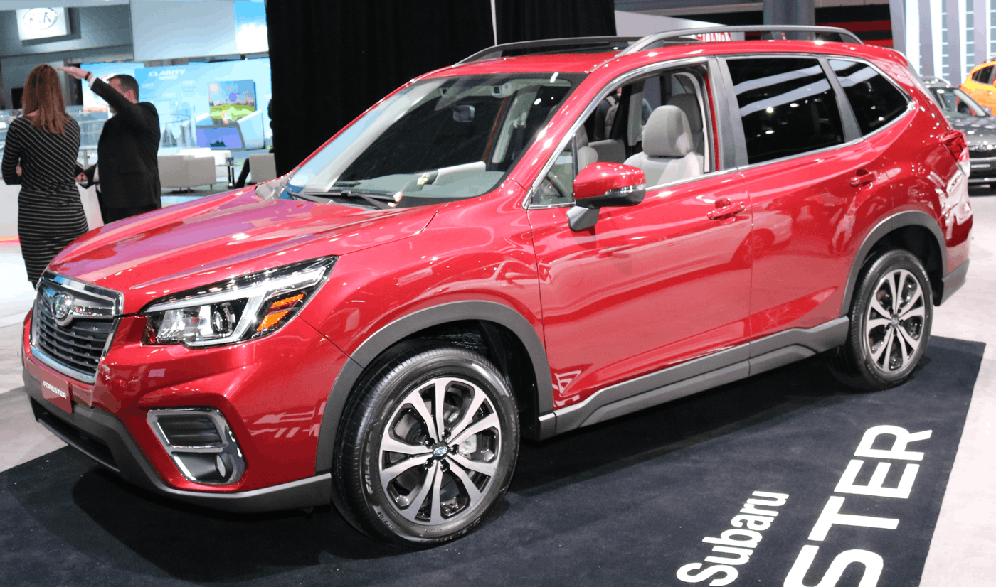 2019 Subaru Forester at 2018 NY Auto Show