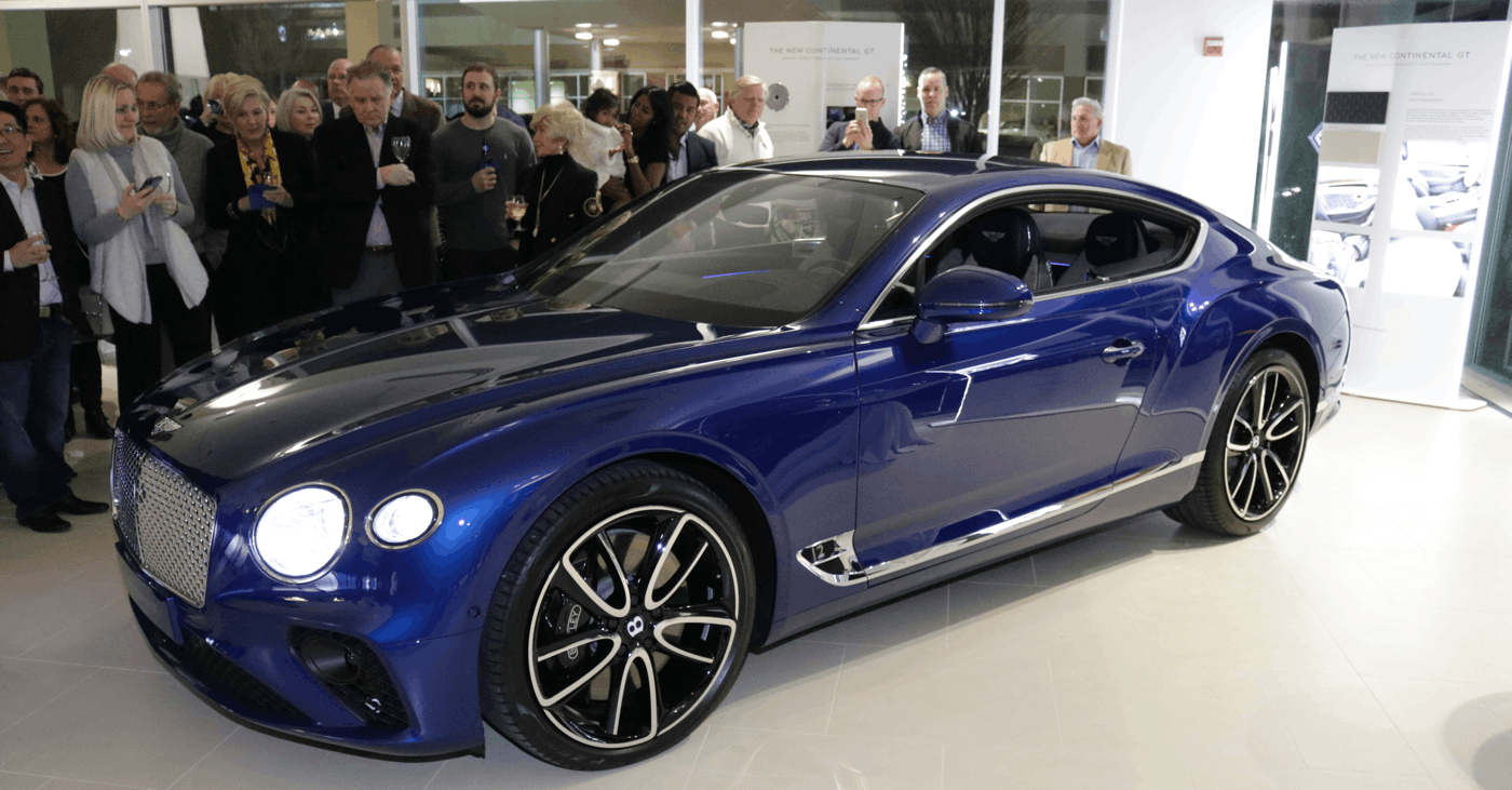 Bentley Continental GT Unveiling at STL Motorcars