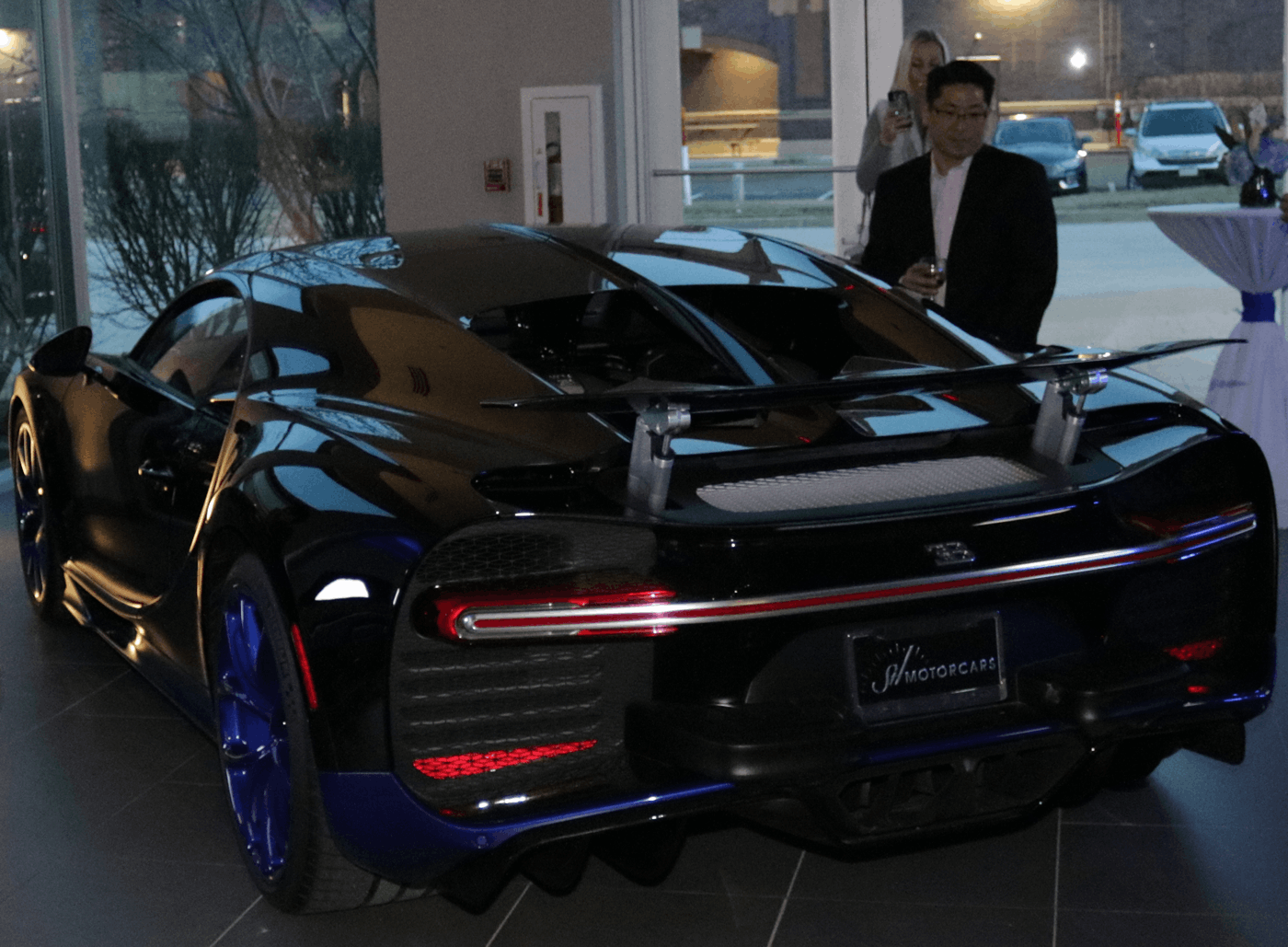 Bugatti Chiron at Saint Louis Motorcars