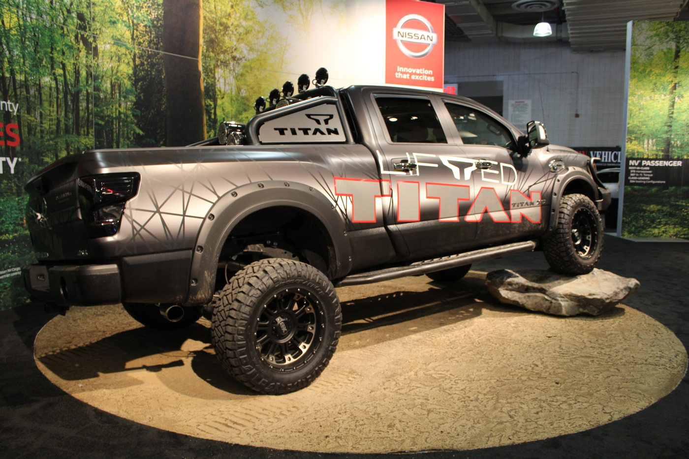 Nissan Titan Lifted Concept