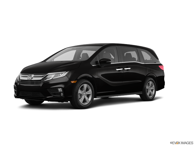 New 2018 Honda Odyssey  w/Navigation and Rear Entertainment System EX-L Crystal Black Pearl / Gry