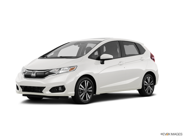 New 2018 Honda Fit Sport White Orchid Pearl / Blk