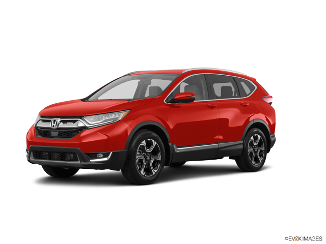 New 2018 Honda CR-V Touring Basque Red Pearl Ii / Gry Lth