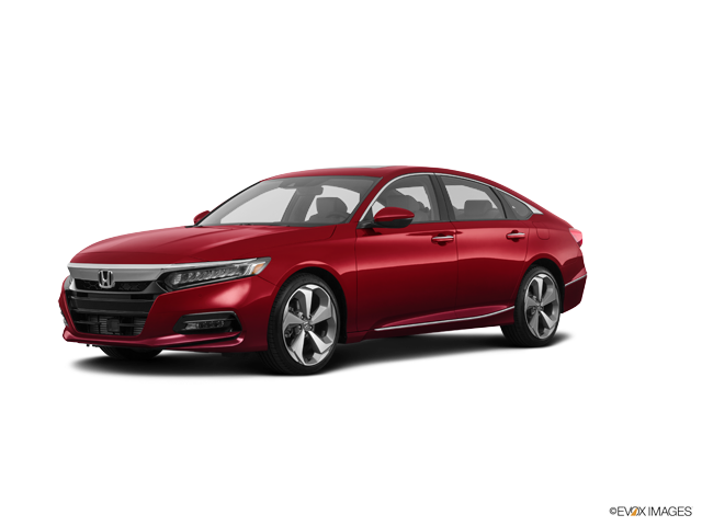 New 2018 Honda Accord Sedan Touring Radiant Red Metallic / Ivory Lth-Trimmed Seats