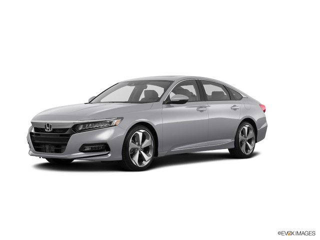 New 2018 Honda Accord Sedan Touring Lunar Silver Metallic / Ivory Lth-Trimmed Seats