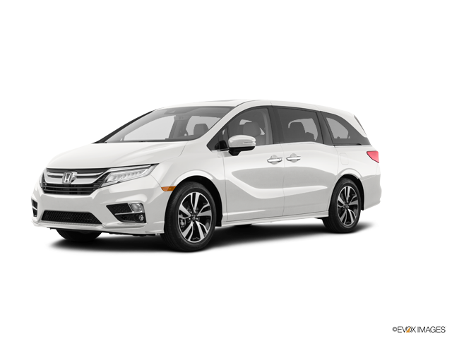 New 2018 Honda Odyssey ELITE White Diamond Pearl / Mocha Seat Trim