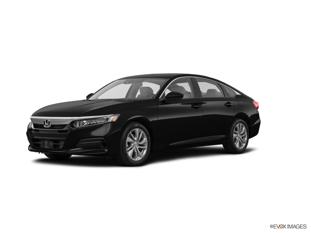 New 2018 Honda Accord Sedan EX-L 2.0T Crystal Black Pearl / Blk Lth-Trimmed Seats
