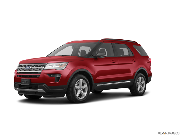 New 2018 Ford Explorer XLT FWD XLT